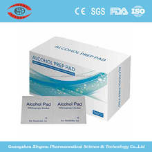 nonwoven alcohol swabs/medical alcohol pads