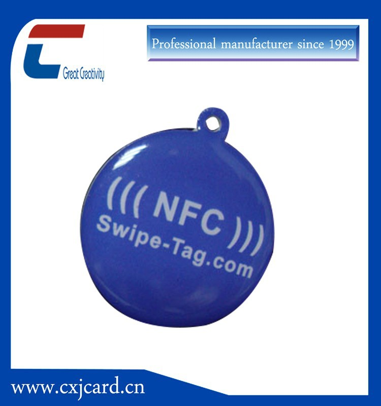 13.56mhz Type 2 PVC/PET/Paper NFC Tag With Ntag203/Ultralight Chip