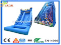 OCEAN THEME water slides with pool PVC inflatable for sale, Guangzhou manufacturer for sale