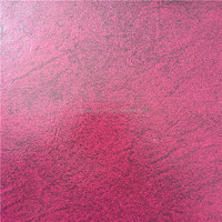 2015 new product purple red 0.8mm pvc sofa leather from Jiangyin Longsheng