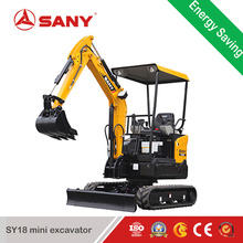 SANY SY18C 1.8 ton new mobile minibagger