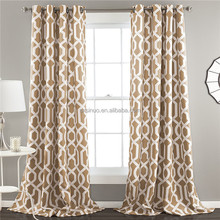 New Design Best Selling Printed Fashion Polyester curtain made in China