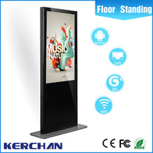 Marketing advertising equipment indoor floor standing android samsung lcd outdoor advertising led display screen