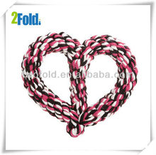 Heart Shape Rope Toy for Dog