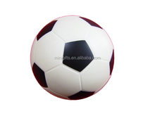 PU anti stress ball-soccer ball,black and white pu stress football