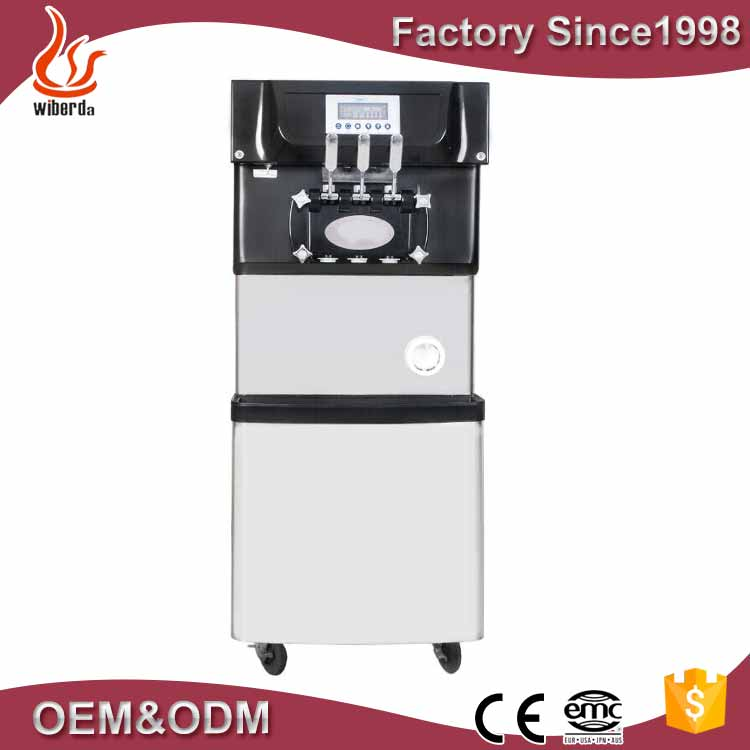 Hot sale thailand soft and fry ice cream machine from machine factory