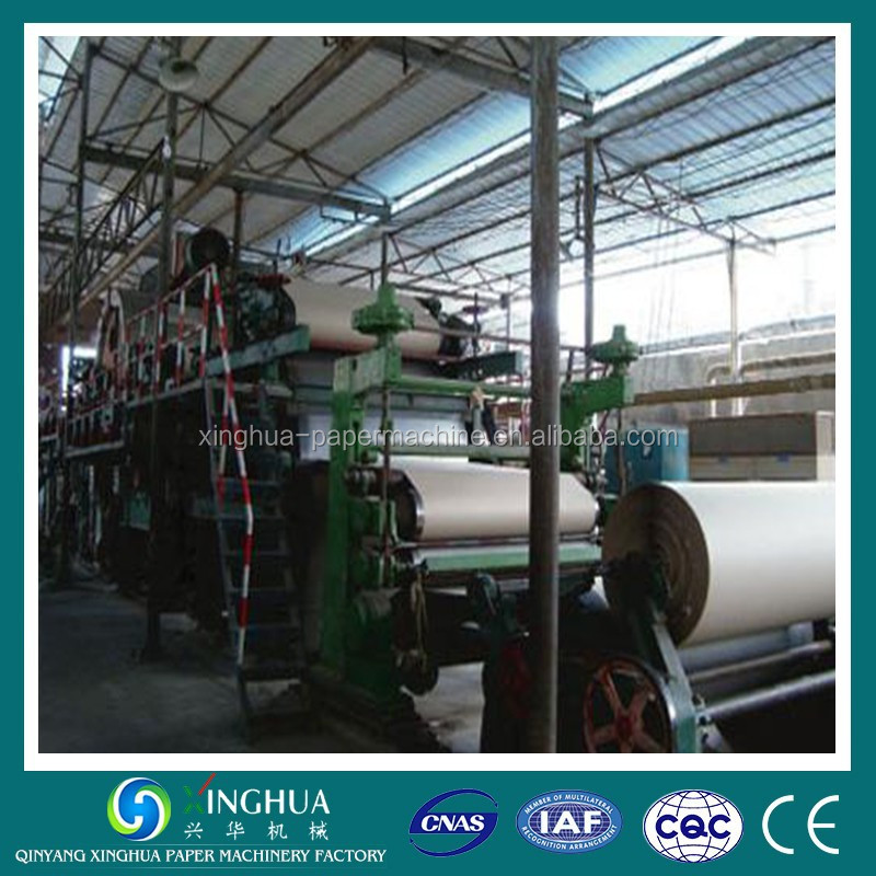 1092 Type Kraft paper and brown paper making machine for sack kraft and food package