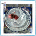 wholesale machine made clear decorative glass salad bowl