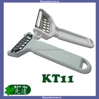 Y-shaped swivel Peeler, Grater - equipped with stainless steel blade