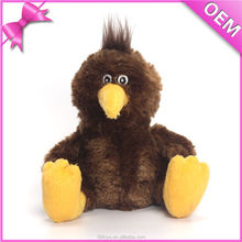 Children toys plush small brown bird indoor toys