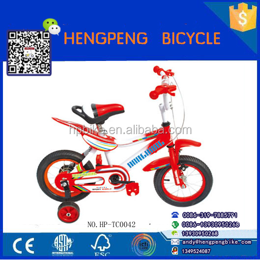 2015 Top Quality New Model 4 Wheel Kids Bicycle/Children BMX Cycle Cycling