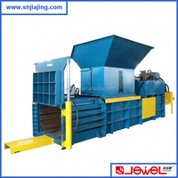 high quality best price factory supply Large capacity horizontal hydraulic press carton baling machine