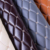 Recycled Embroidery Quilted Diamond Stitching leatherette  Pu Pvc Synthetic Leather
