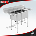 Stainless Steel Kitchen Sink Work Table/stainless steel kitchen work tables/flexible size for working table