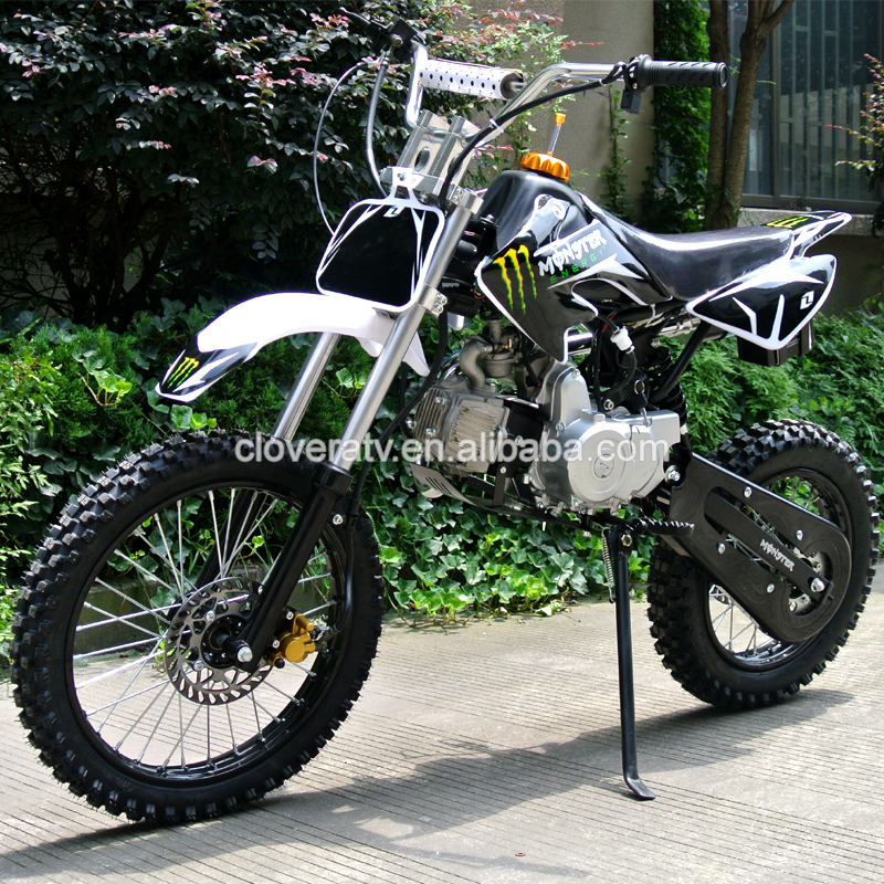 Chinese Kick Start Motorcycle 110CC Pit Bike 125CC Dirt Bike with Locin Engine