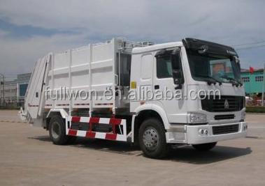 SINOTRUK HOWO small garbage compactor truck special offer ET104510ME