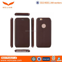 OEM/ODM Leather mobile case for iphone 6 with 200 worker