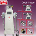 6 in 1 two handle portable body fatfreezing sculpting machine with cavitation hifu rf for sale