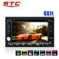 Portable Car 2 Din Audio Player with DVD/VCD/CD, GPS Nevigation, Bluetooth...STC-6011