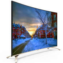 "China led tv price Asia full hd 50"" inches led- smart-tv curved tvs"
