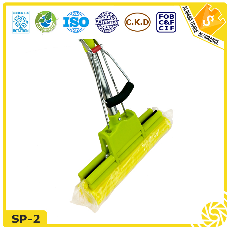 Strong Construction Extensible PVA Mop Telescopic pole dust mop