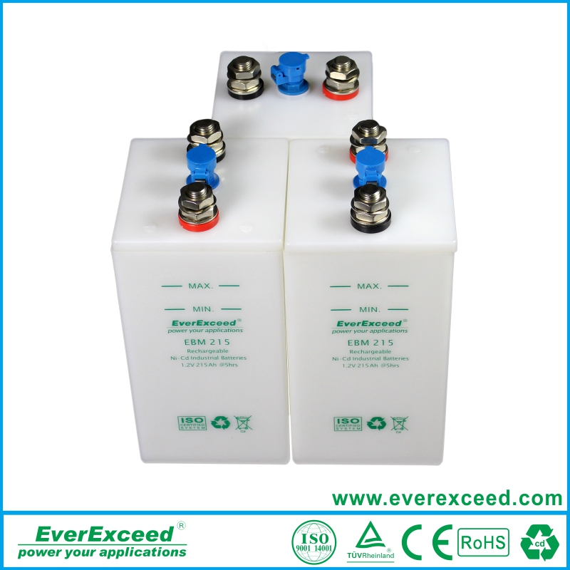 Best Price for Original NiCd battery vented type with fast charging EBM500