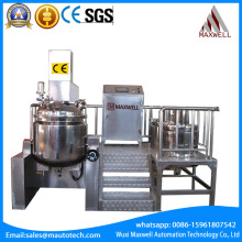Mascara Mixer RPM Homogenizer Industrial Mixing Tank With Heating ceramic slurry make and processing machine