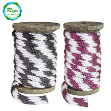 2017 hot sale factory price light weight Multi Function 8mm Solid Braid Polypropylene rope