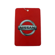 Customized Logo High Quality Manufacture Perfumed Hanging Paper Car Air Freshener