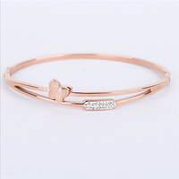 Yiwu Aceon Stainless Steel fashion hot selling sexy artificial handmade bangle