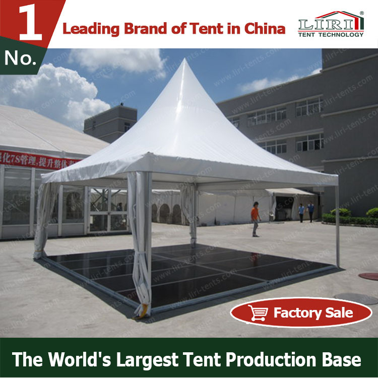 Sale PVC Fabric Gazebo Tent 5m x 5m with Floor
