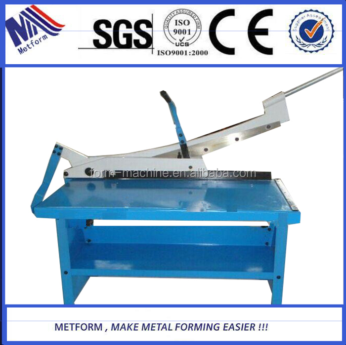 2015 Top Quality Guillotine Design Advanced hand operated shearing <strong>machine</strong> for thin plate