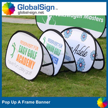 Global Sign horizontal shape pop up banners