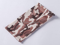 Microfiber Mobile Phone Pouch with Photo Heat-transfer Printing, embossed logo (XY-00222)