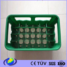 plastic egg beer crate container making by injection molding pump supplier
