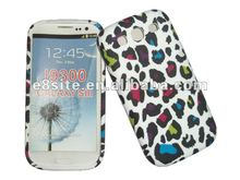 Colorful Leopard Printed TPU Case For SamSung Galaxy S3 i9300