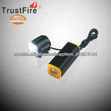 trustfire D011 nice well bike flashlight with power bank 2100lumens nice well bicycle headlight china supplier