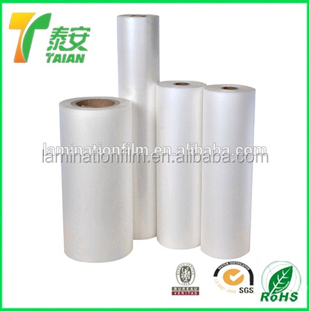 Anti-scratch Hot Lamination Film, protect the paper surface, thermal film