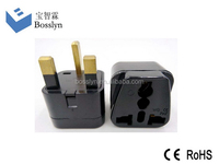 Universal to UK/ HK Malaysia Singapore Travel Adapter Plug Convert