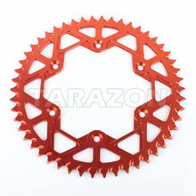 China suppilers Motorcycle rear alloy aluminum sprocket for CRF 250 450