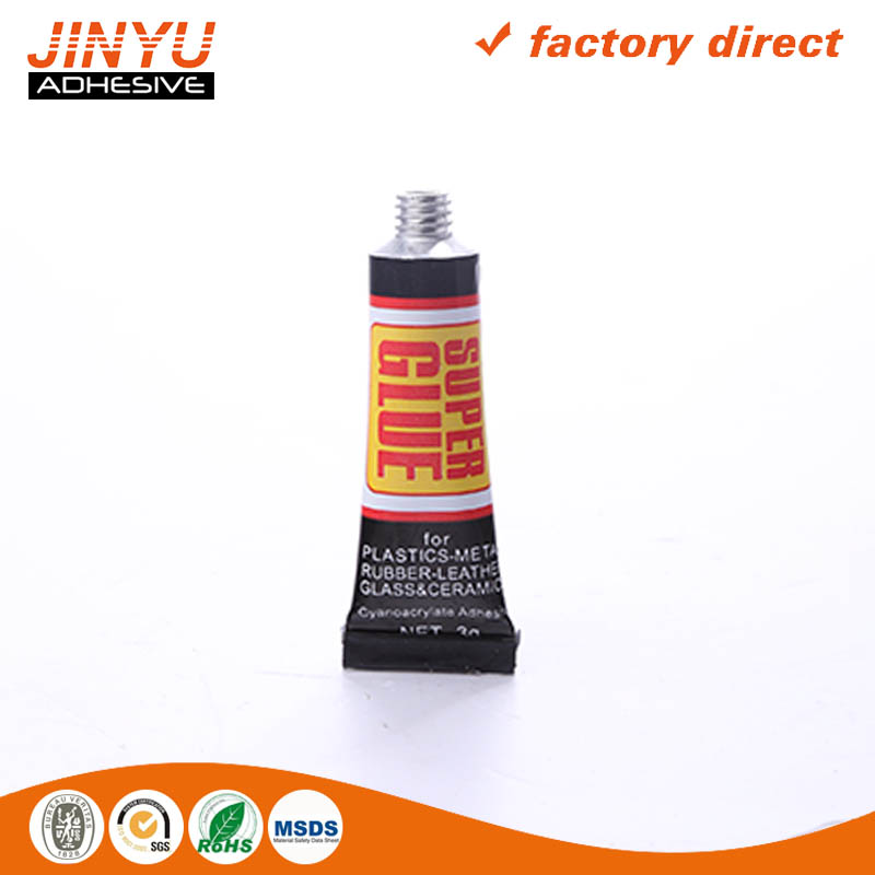 Quick dry Acrylic Resin plastic 502 cyanoacrylate adhesive super glue made