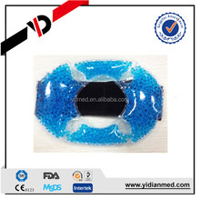 Plastic microwave hot cold gel pack with adjustable wrap