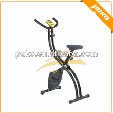 S shape home exercise machine,magnetic bike trainer
