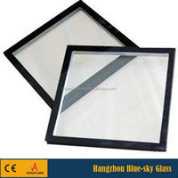 8mm+12A+8mm silicon sealant insulated glass for frameless curtain wall