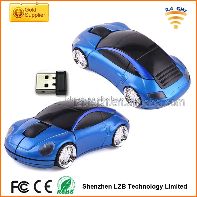 2016 New Arrival race computer wireless car model mouse