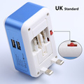 2 USB 2.1A travel adapter UK to US plug universal travel adapter all in one worldwide travel adaptor IC intelligent charging