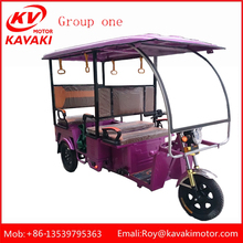 China Supplier New Electric Tricycle For Passenger Indian Icat Certified E Rickshaw