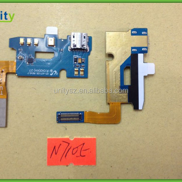 For Samsung Galaxy Note 2 N7105 Charger USB Port Dock Connector Flex Cable Parts