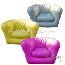 inflatable chesterfield sofa fashione PVC Inflatable chair for adult
