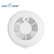 Battery Backup GSM Remote Control Smoke Detector Alarm Mains